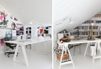 O sótão, conhecido por ser um local de depósito de muitas famílias, pode ser muito aproveitado nos dias de hoje, seguindo tendências da arquitetura moderna.