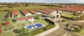 Os condomínios Moradas Pelotas 2 e Moradas Clube 2, utilizam as telhas Madepel / Cejatel .